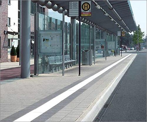 Betonsonderprodukte für den öffentlichen Personennahverkehr
