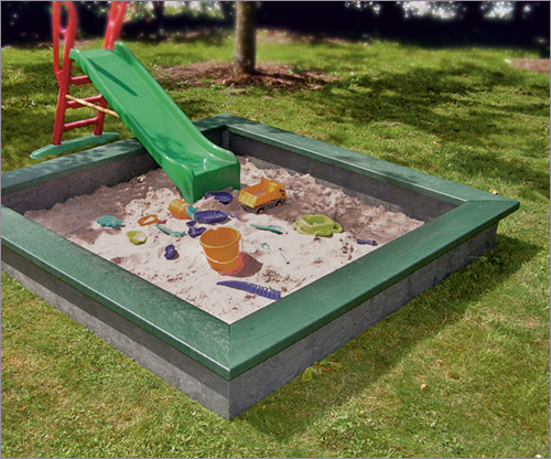 Sandkasten  aus Recyclingkunststoff